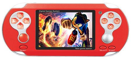 3.0″multi-color TFT LCD handled game console support 2000+ SEGA MD & Original true color games